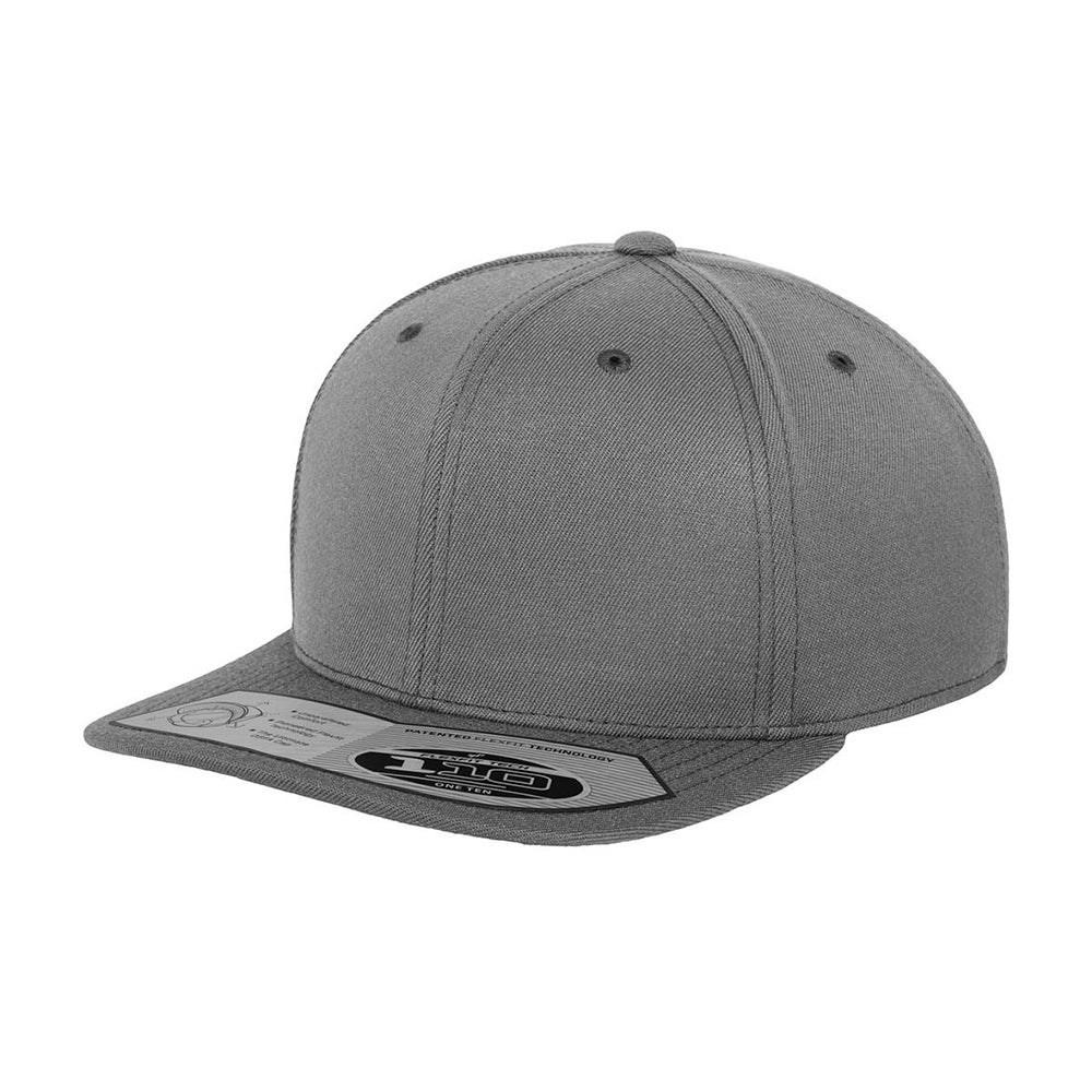 Flexfit Yupoong Premium One Ten Snapback 110F Dark Grey Mørkegrå