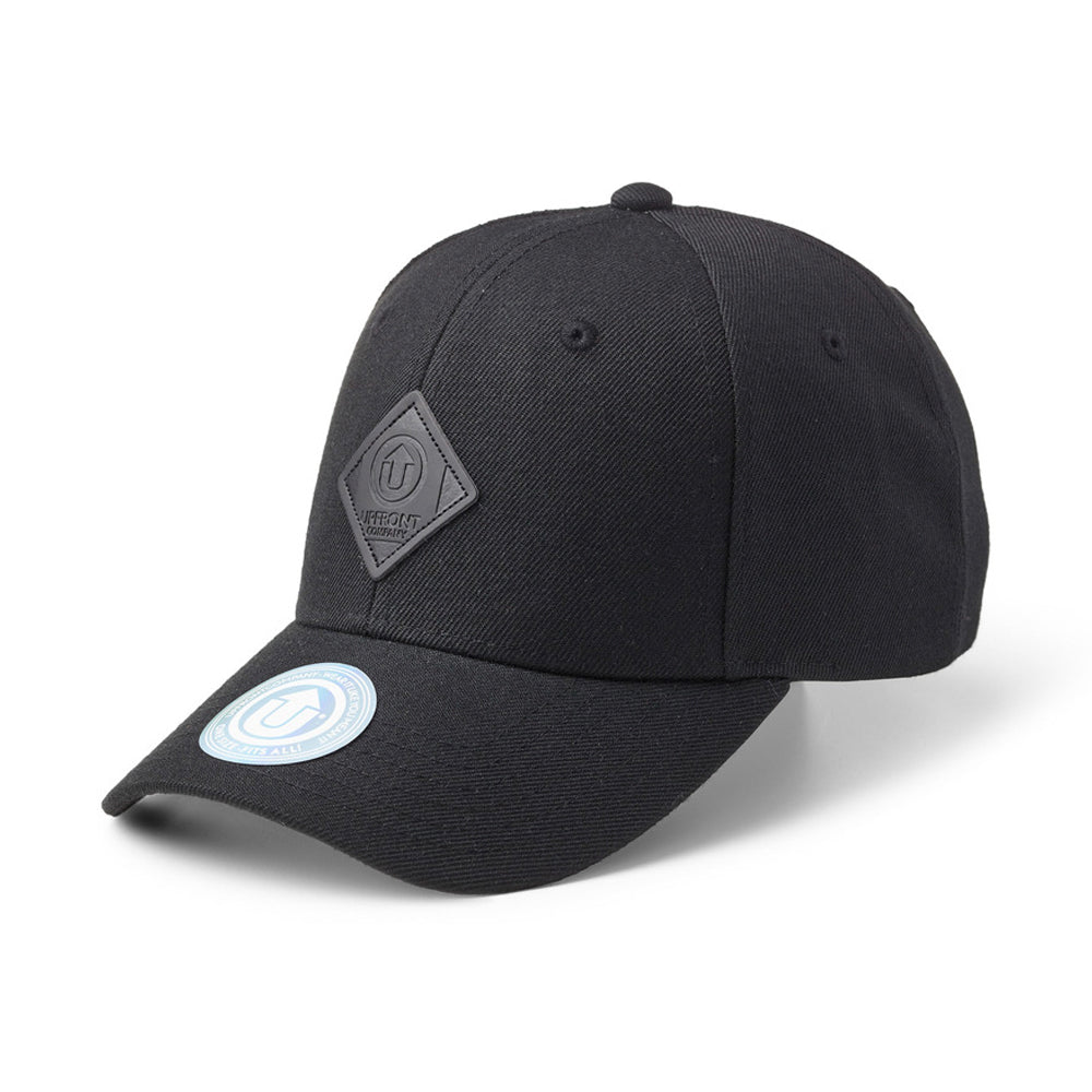 Upfront Off Spring Baseball Snapback Black Sort