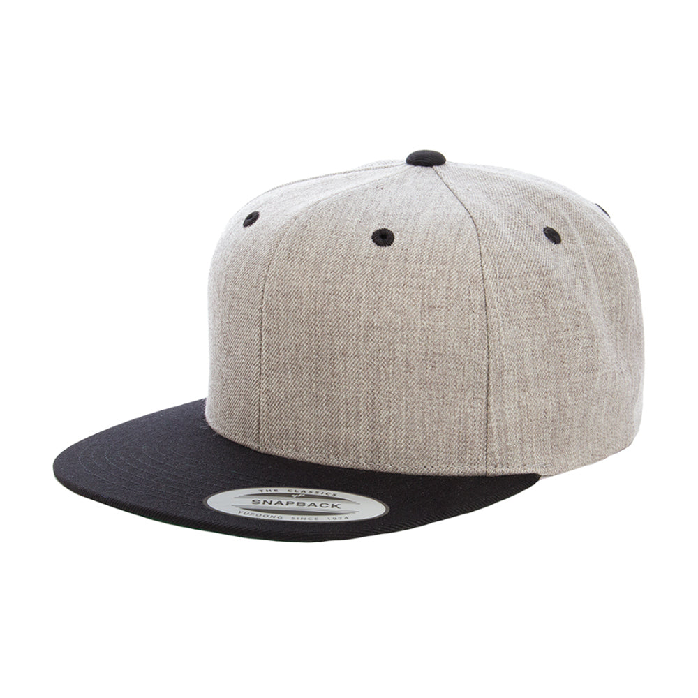 Yupoong Cap Youth Grey Snapback