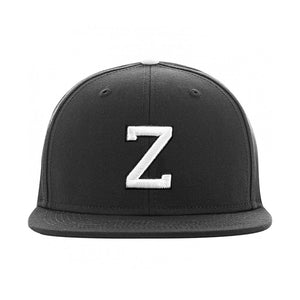 Headzone Letter Cap E Snapback Black Sort