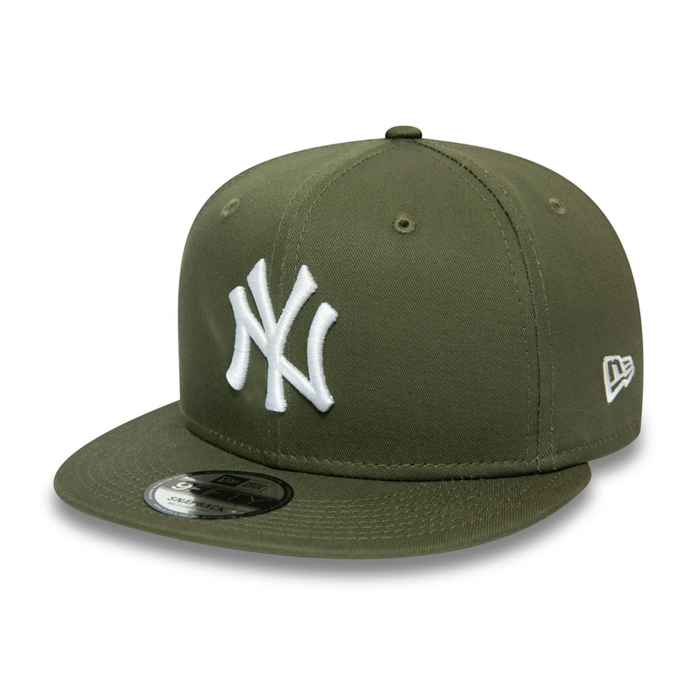 New Era NY Yankees Essential  9Fifty Snapback Olive Grøn