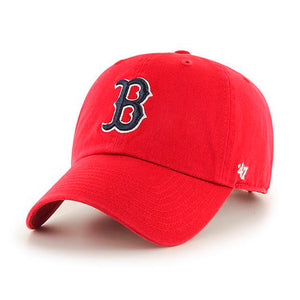 47 Brand Boston Red Sox Clean Up Justerbar Red Rød
