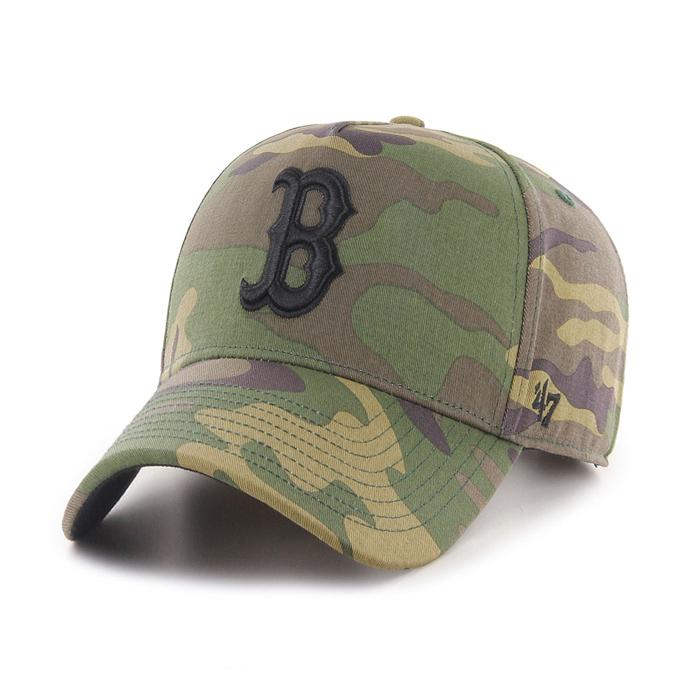 47 Brand MLB Boston Red Sox MVP DT Snapback Camo