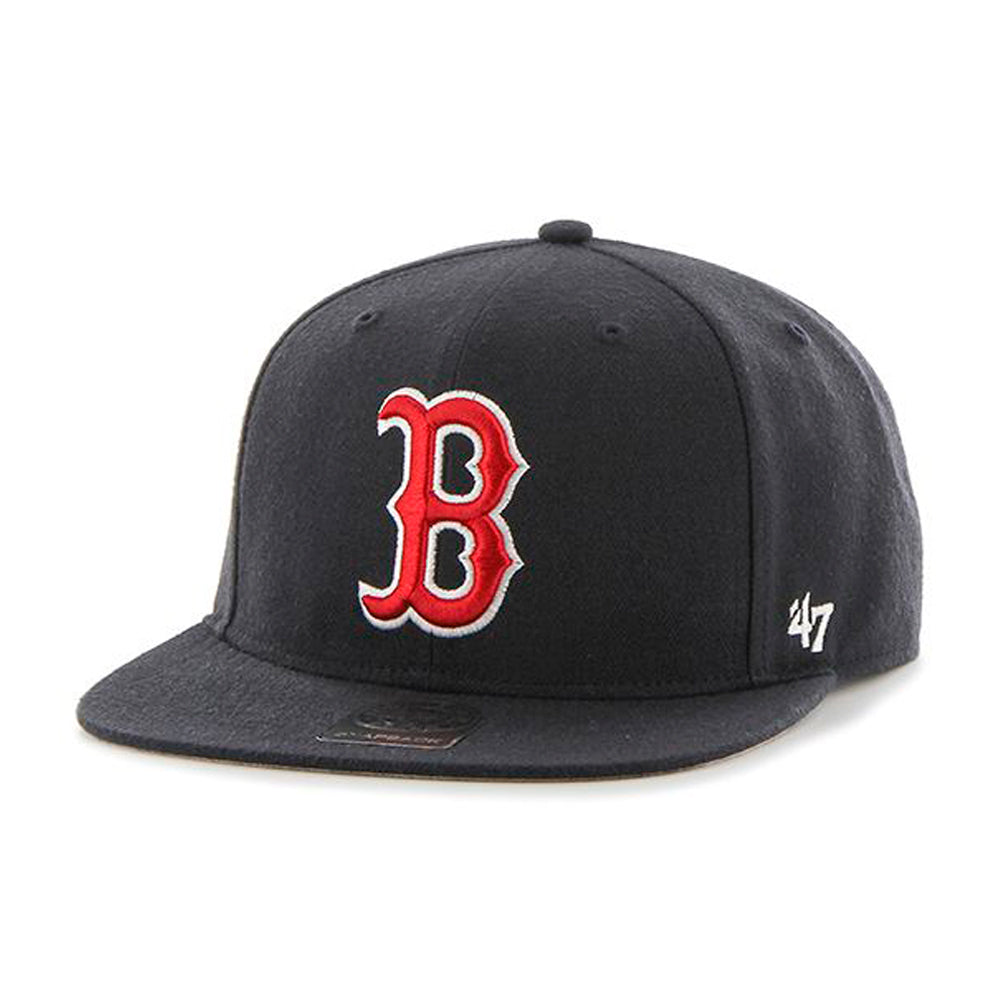 47 Brand Boston Red Sox No Shot Snapback Navy Blå