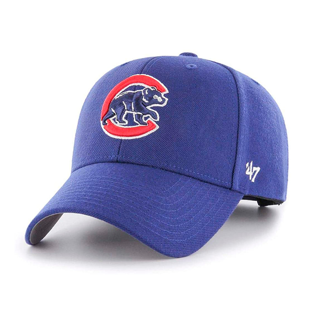47 Brand Chicago Cubs MVP Adjustable Blue Red Blå Rød B-MVP05WBV-DLA