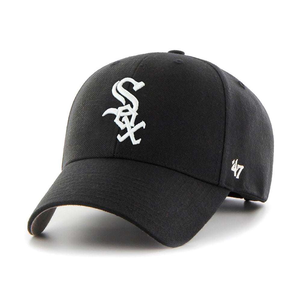 47 Brand Cap Chicago white sox Justerbar Sort