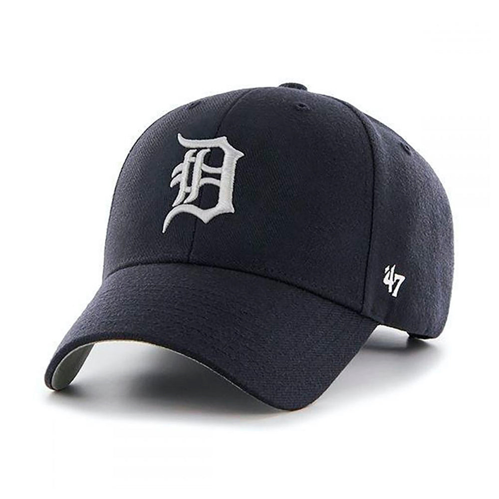 47 Brand Detroit Tigers MVP Adjustable Black Sort B-MVP09WBV-HM