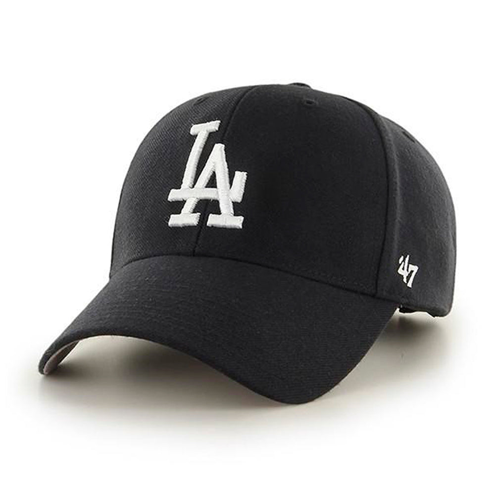 47 Brand Los Angeles LA Dodgers MVP Adjustable Justerbar Black Sort