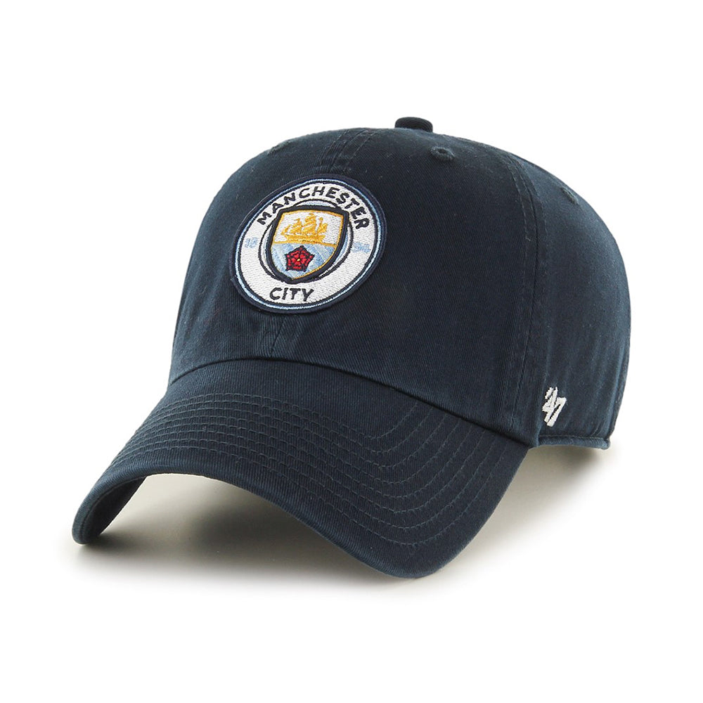 47 Brand Manchester City Clean Up Adjustable Navy Blå