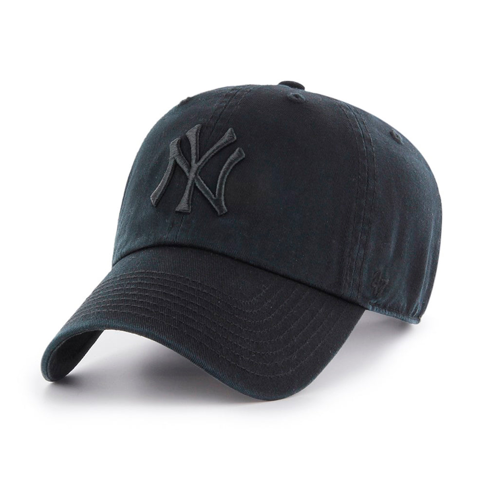 47 Brand New York NY Yankees Clean Up Justerbar Black Sort B-RGW17GWSNL-BKF