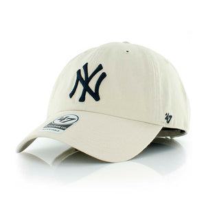 47 Brand NY Yankees Clean Up Natural Justerbar