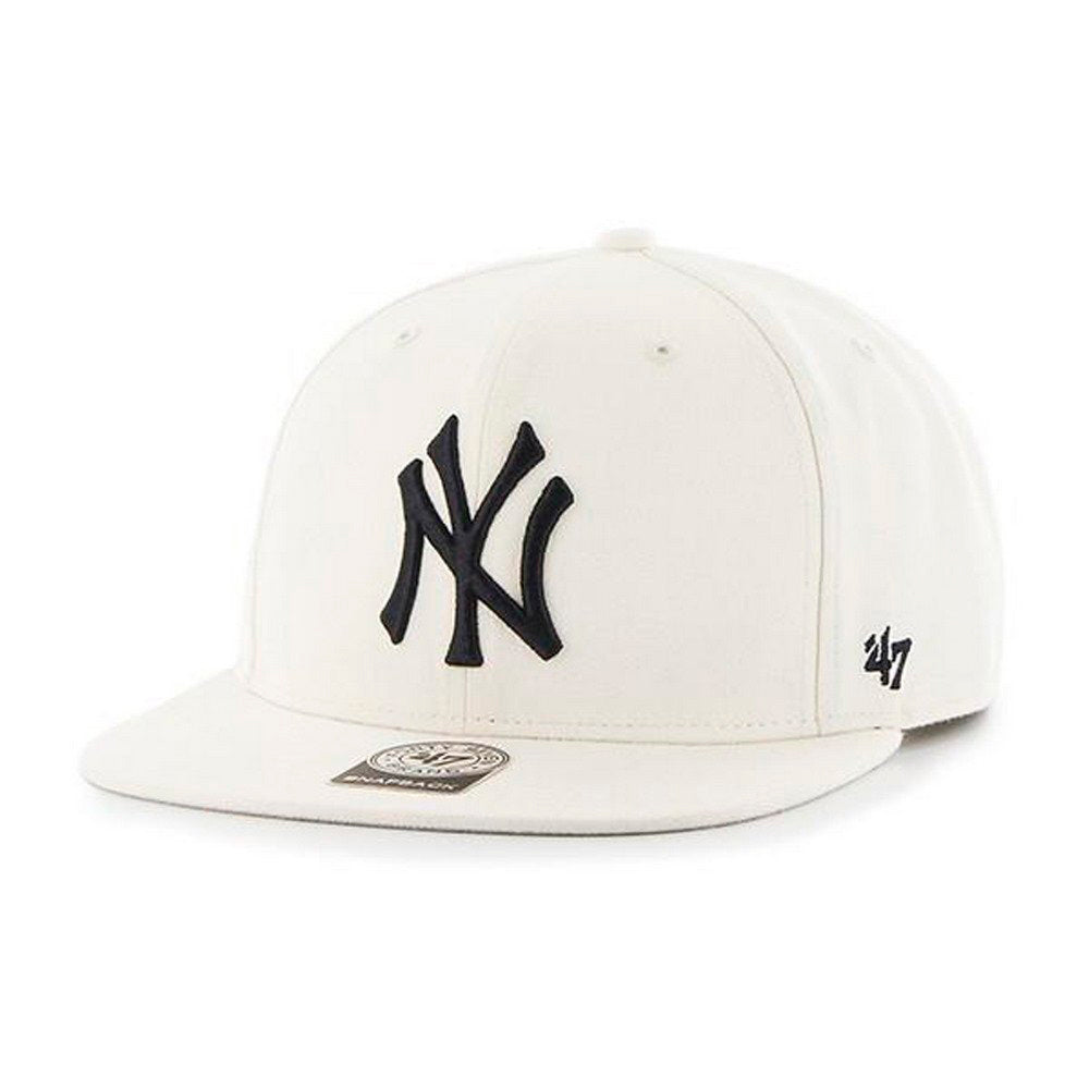 47 Brand New York NY Yankees No Shot Snapback Natural White Nature HvidB-NSHOT17WBP-NT