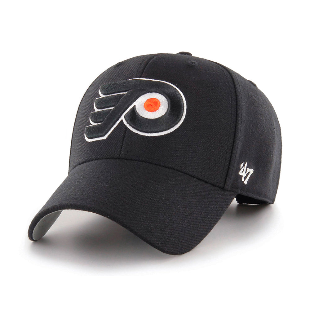 47 Brand Philadelphia Flyers MVP Adjustable Black Sort H-MVP14WBV-ORB