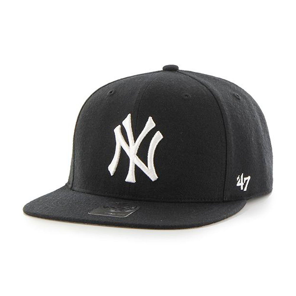 47 Brand NY Yankees No Shot Snapback Black Sort