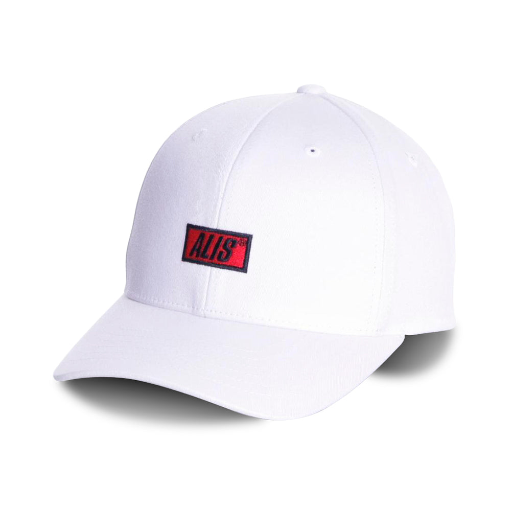 Alis Classic Curved Snapback White Hvid