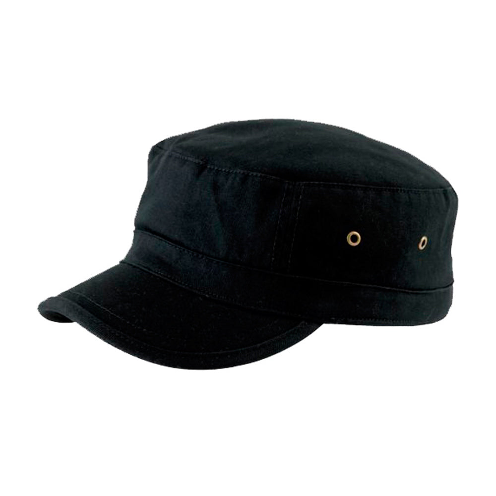 Atlantis Army Cap Adjustable Justerbar Urban Black Sort
