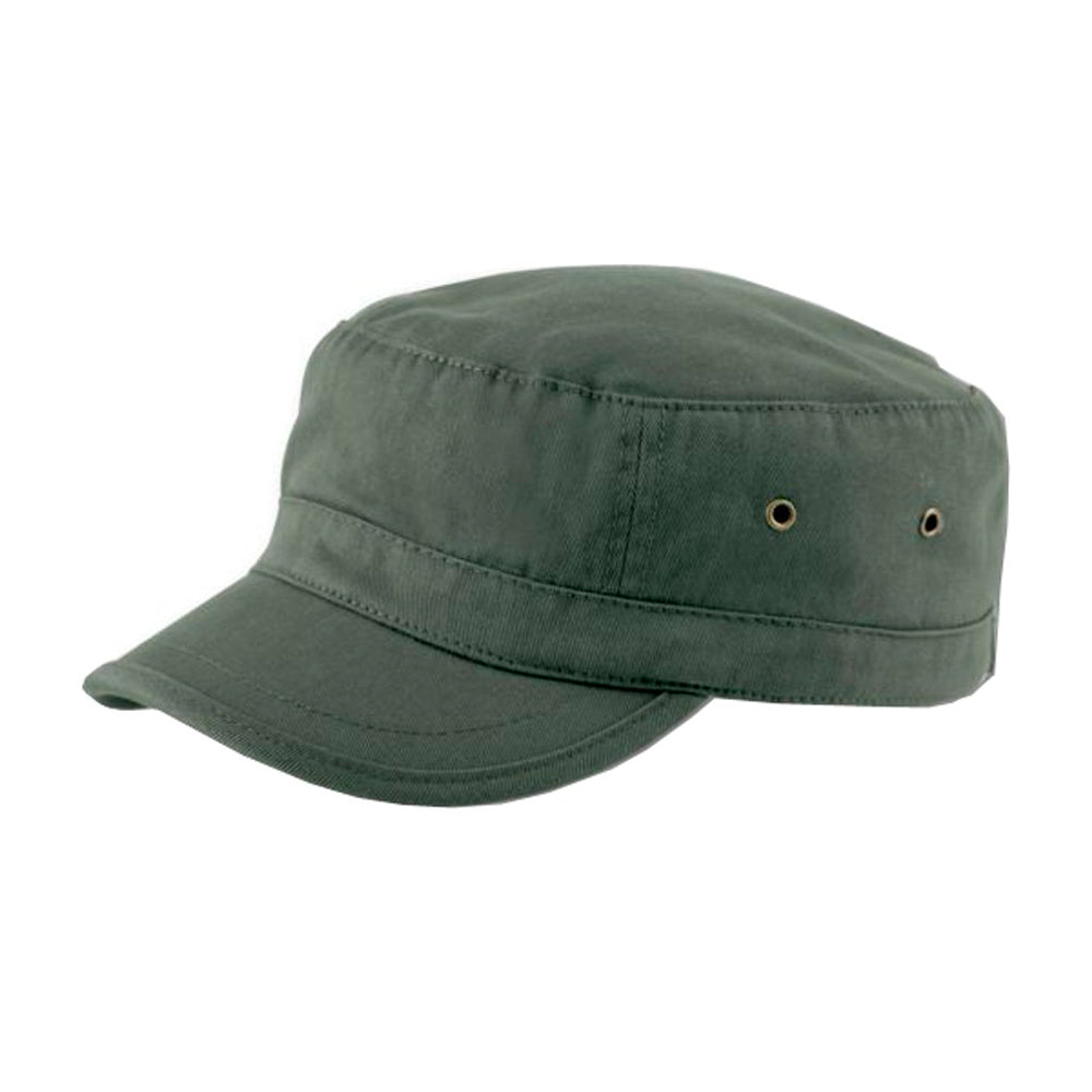 Atlantis Army Cap Adjustable Justerbar Urban Olive Grøn