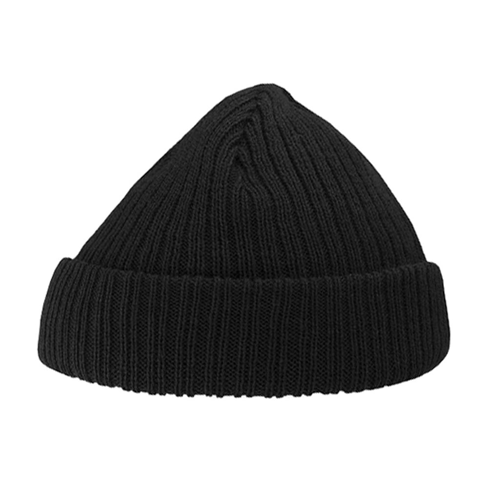 Atlantis Docker Beanie Black Melange Sort