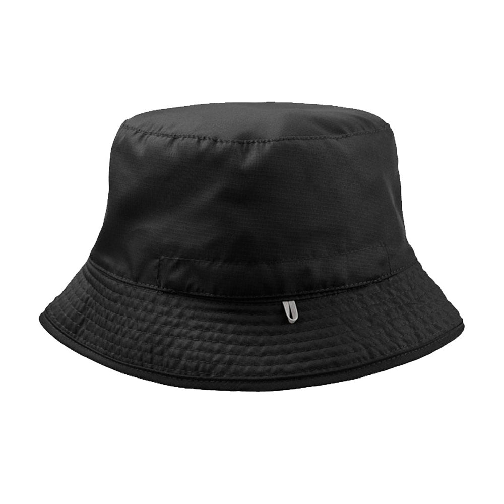 Atlantis Pocket 2 Colored Bucket Hat Black Grey Sort Grå