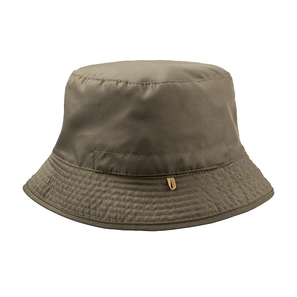 Atlantis Pocket 2 Colored Bucket Hat Olive Khaki Grøn Beige