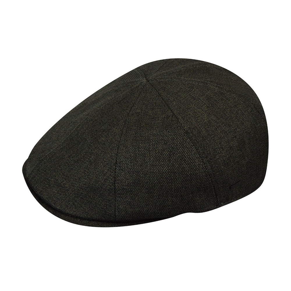 Bailey Simnick Sixpence Flat Cap Olive Grøn