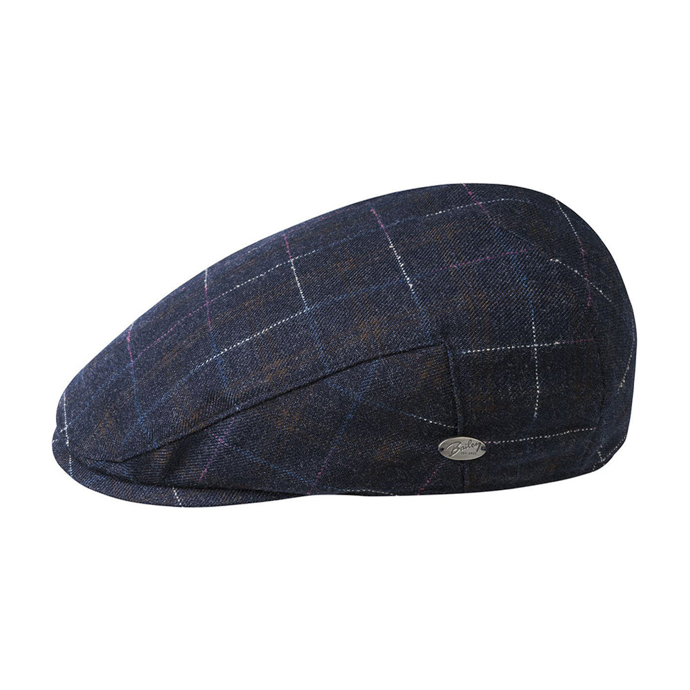 Bailey Spark Sixpence Flat Cap Night Sky Sort Natte Himlen