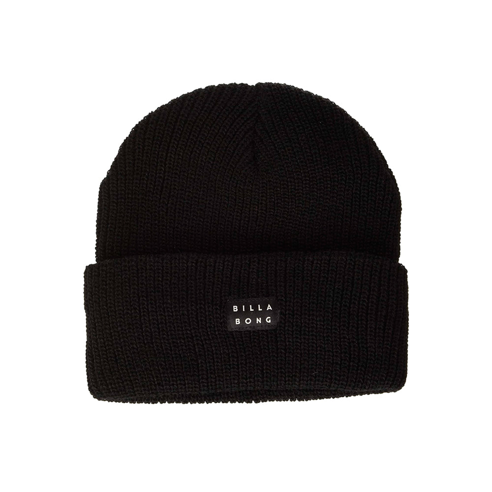 Billabong Aerial Fold Up Beanie Huer Black Sort Q5BN51BIF9
