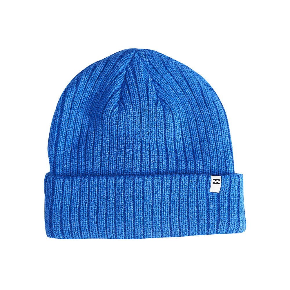 Billabong Arcade Fold Up Beanie Huer Royal Blue Blå L5BN04BIF8