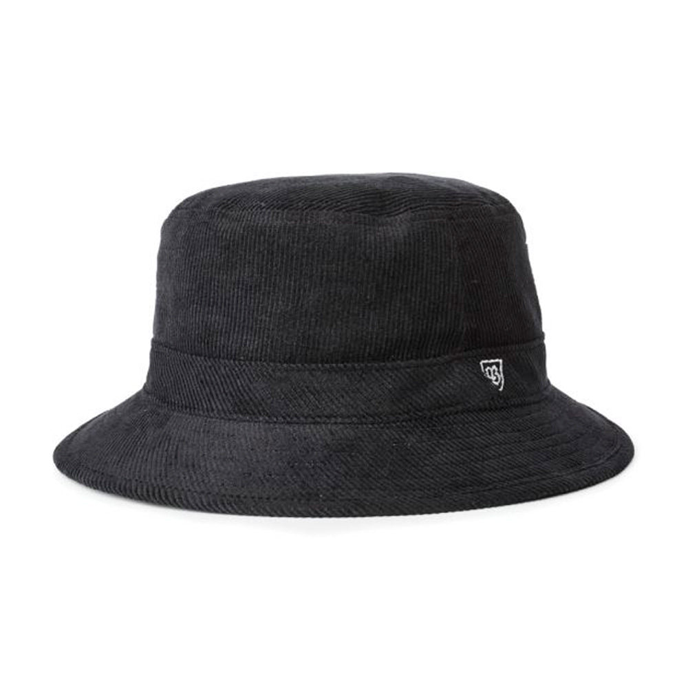 Brixton B Shield Bucket Hat Black Sort