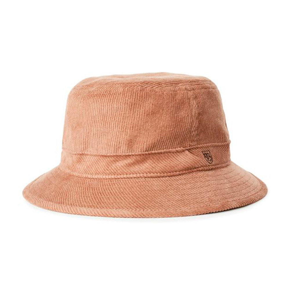 Brixton B Shield Bucket Hat Hide Beige Brun