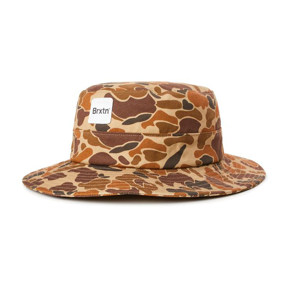 Brixton Gate Bucket Hat Duck Camo