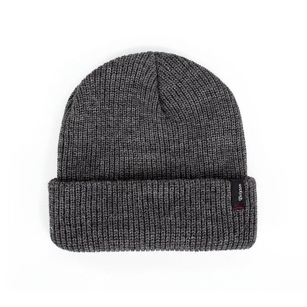 Brixton Heist Fold Hue Heather Grey Grå
