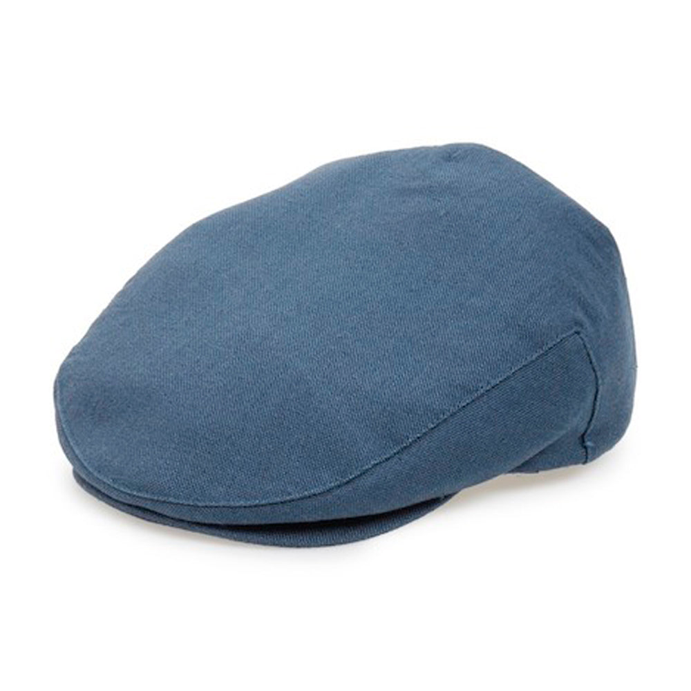 Brixton Hooligan Snap Cap Flat Cap Blue Denim Blå