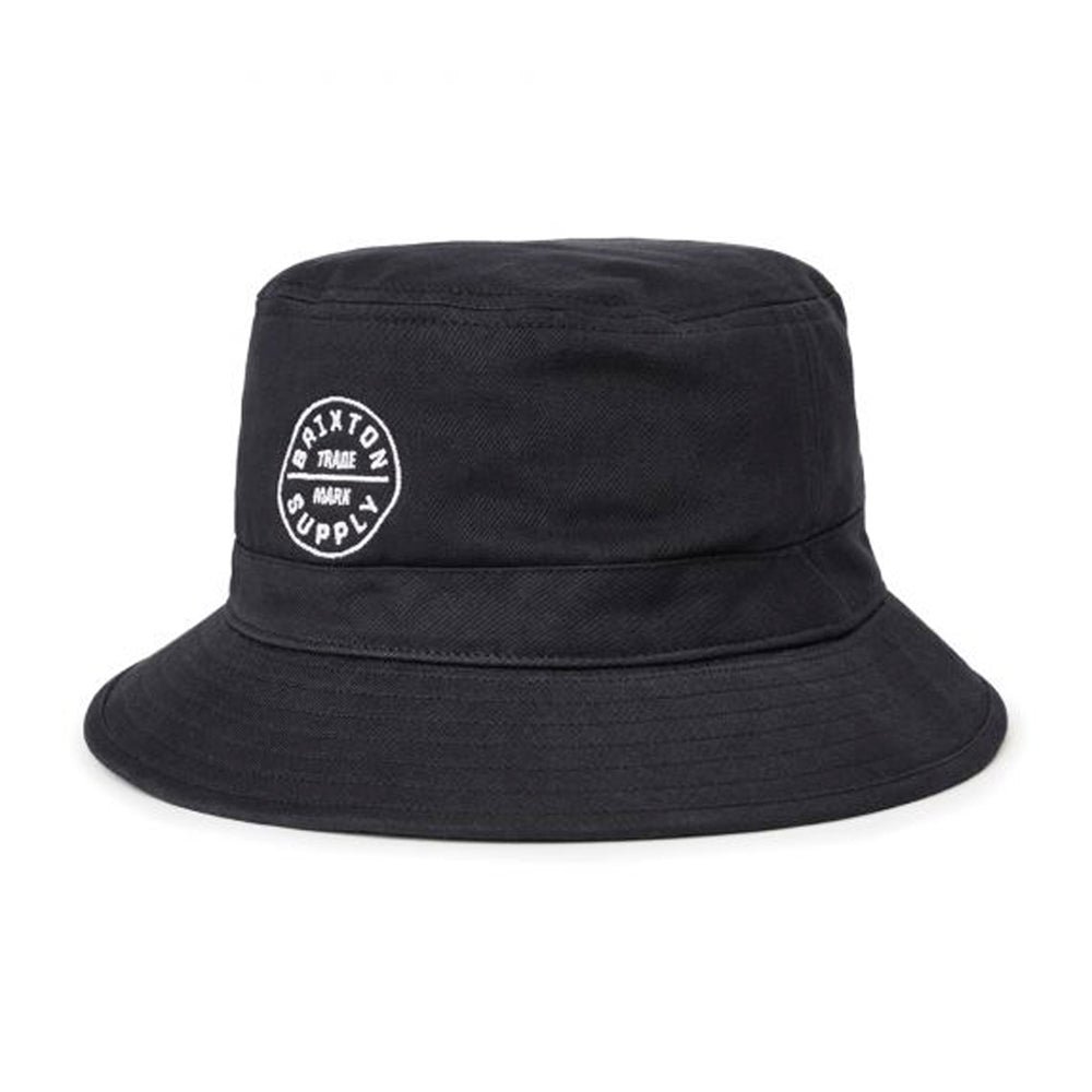 Brixton Oath Bucket Hat Black Sort