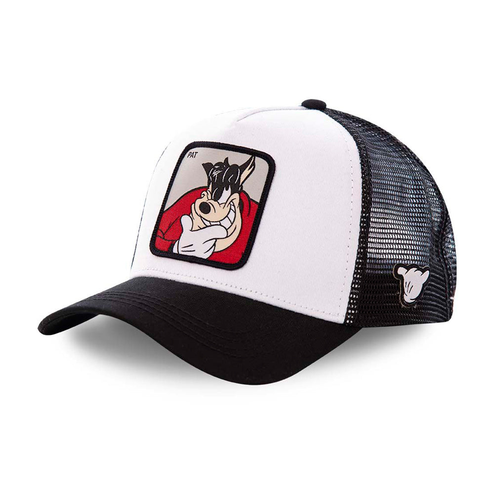 Capslab Disney Pat Trucker Snapback Black White Sort Hvid CL/DIS/1/PET2