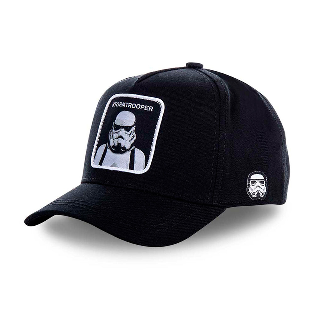 Capslab Stroomtrooper Snapback Black on Black Sort