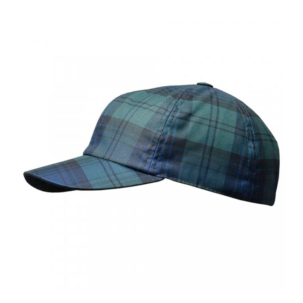 City Sport Dad Cap Adjustable Justerbar 7029 2820 Green Check Grøn