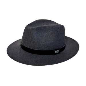 City Sport Hatte Fedora Hat Grey Grå