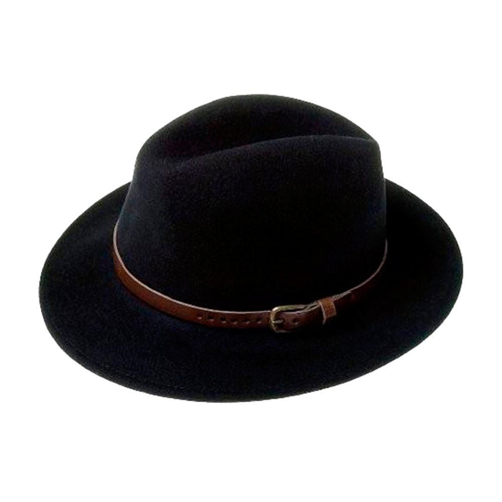 City Sport Hillstone Felt Hat Black Sort