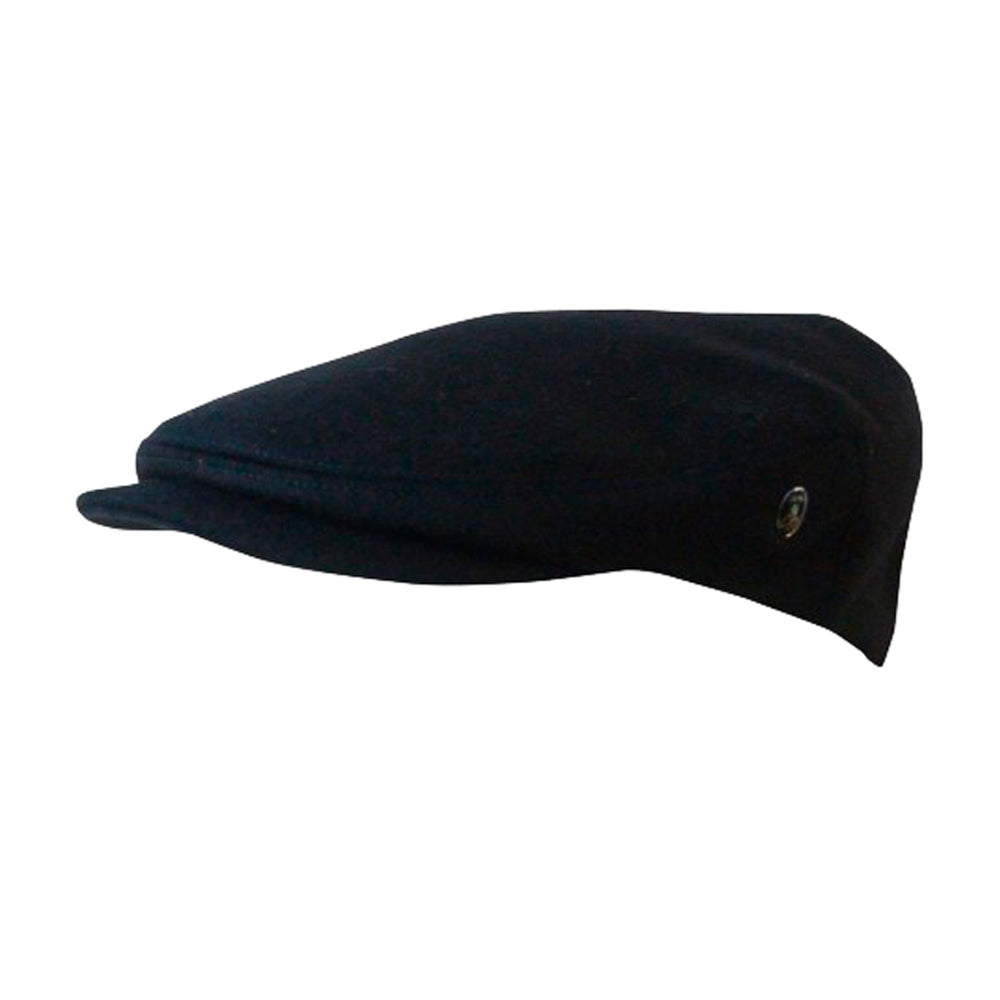 City Sport Sixpence Flat Cap M17 3982 Black Sort