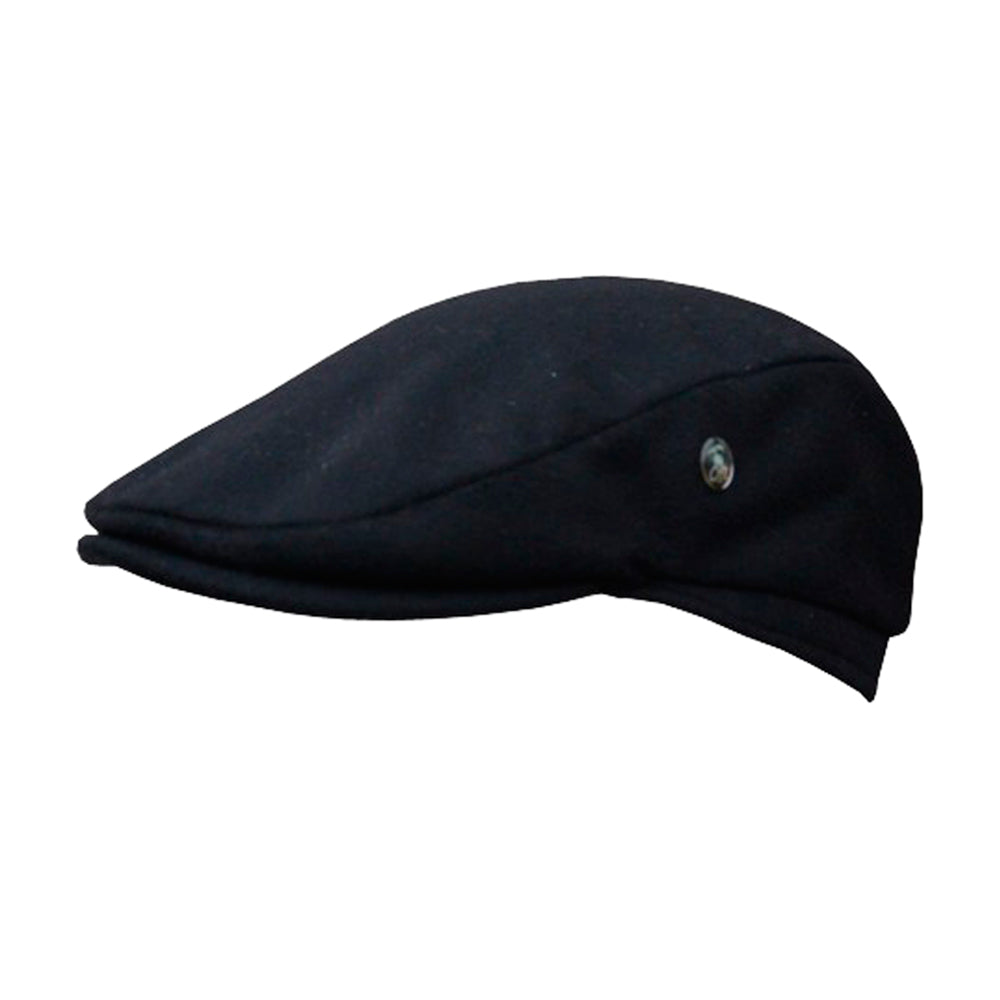 City Sport Sixpence Flat Cap M191 3982 Black Sort