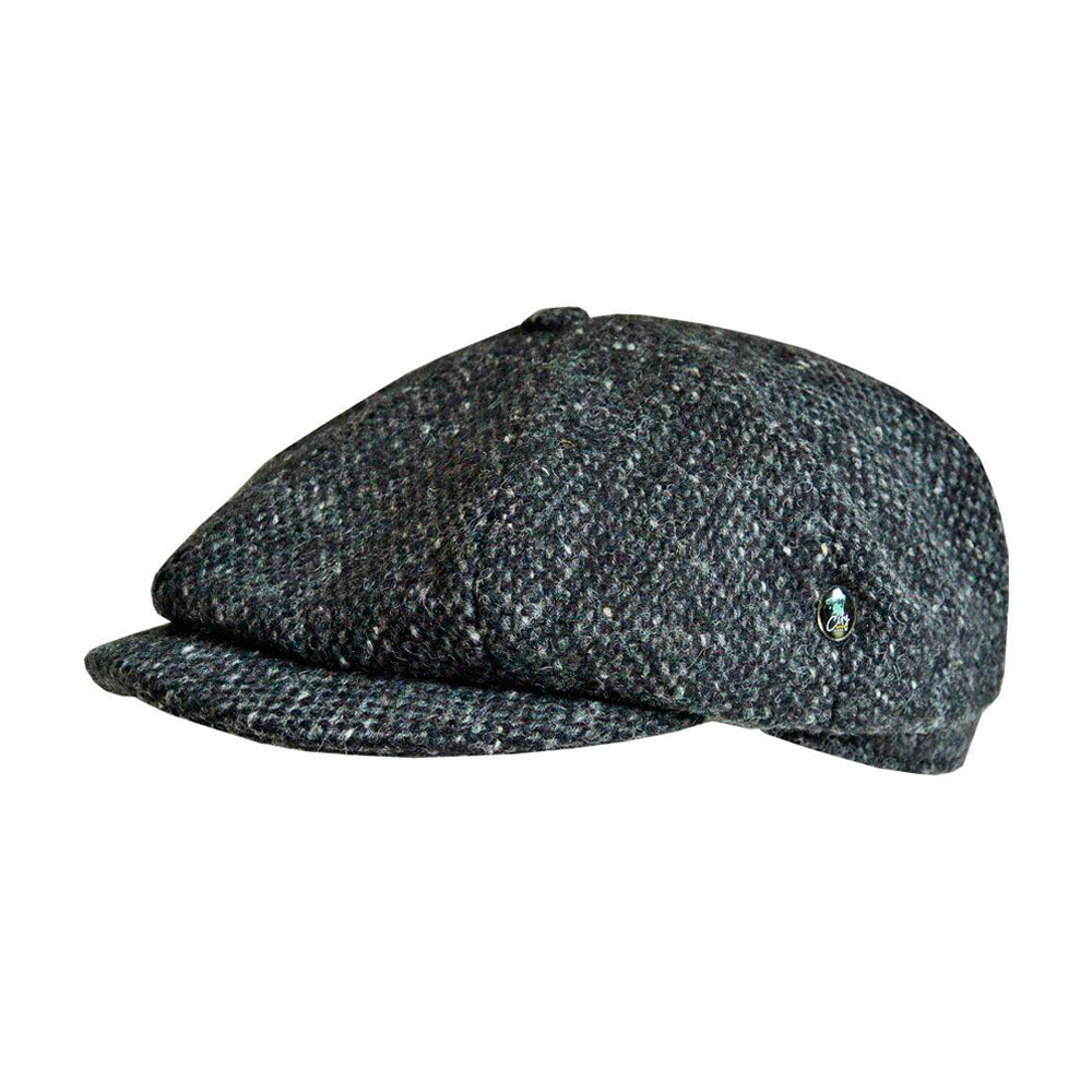 Eight Piece Sixpence Flat Cap M20 4848 Grey Grå