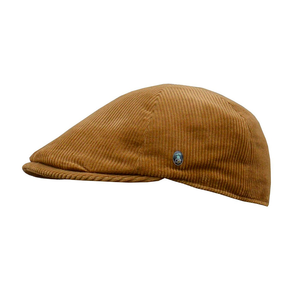 City Sport Sixpence Flat Cap M23 1802 Brown Khaki Brun