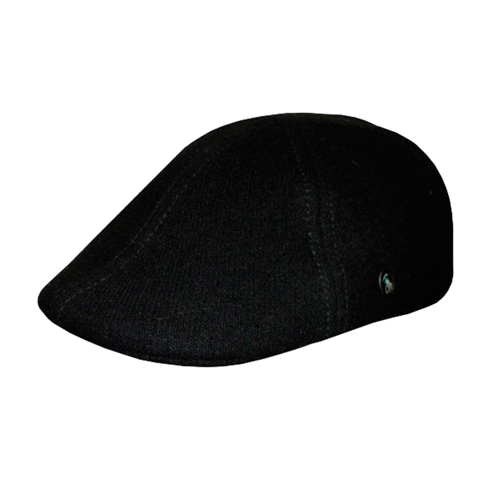 City Sport Sixpence Flat Cap M24 2422 Black Sort