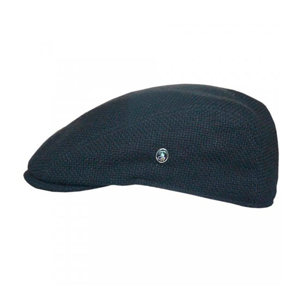 City Sport Sixpence Flat Cap M44 3150 Black Sort
