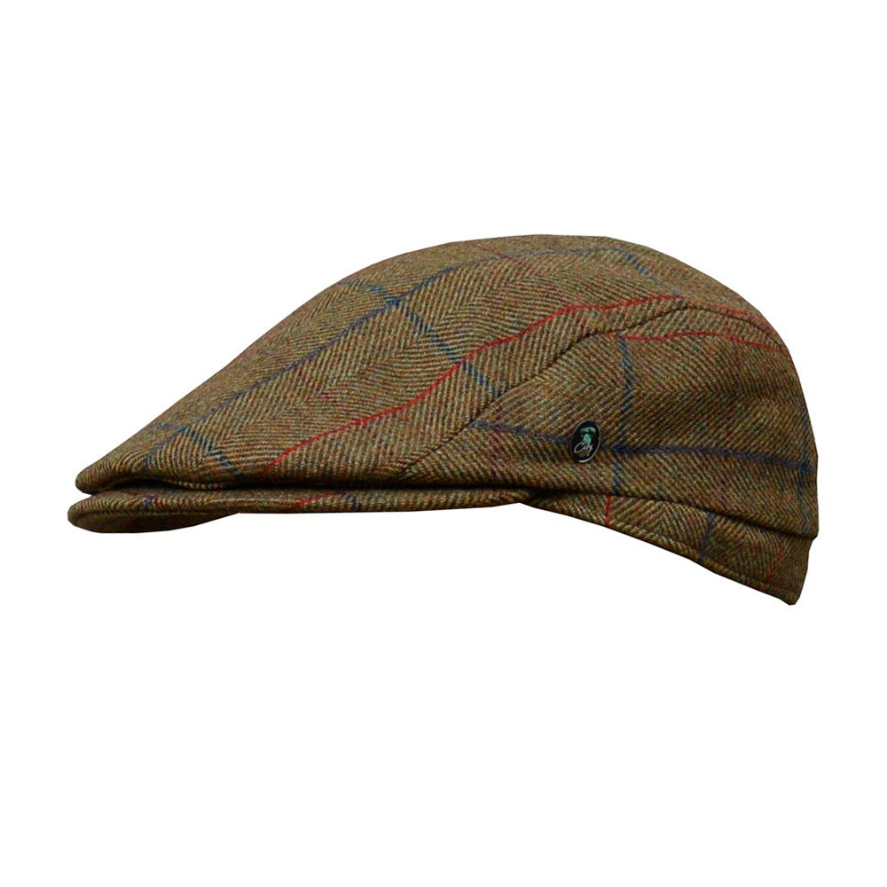 City Sport Sixpence Flat Cap M92 3401 Brown Brun