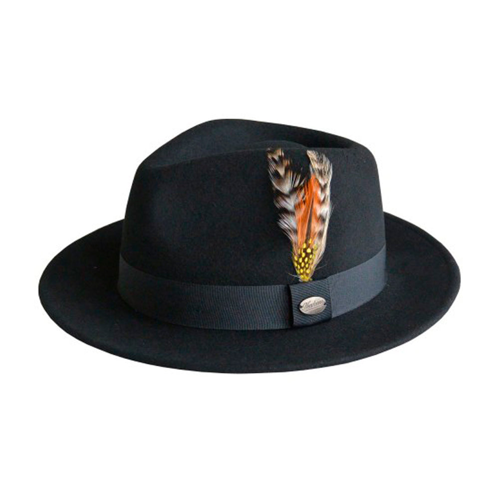City Sport Hatte Martino Fedora Hat Sort