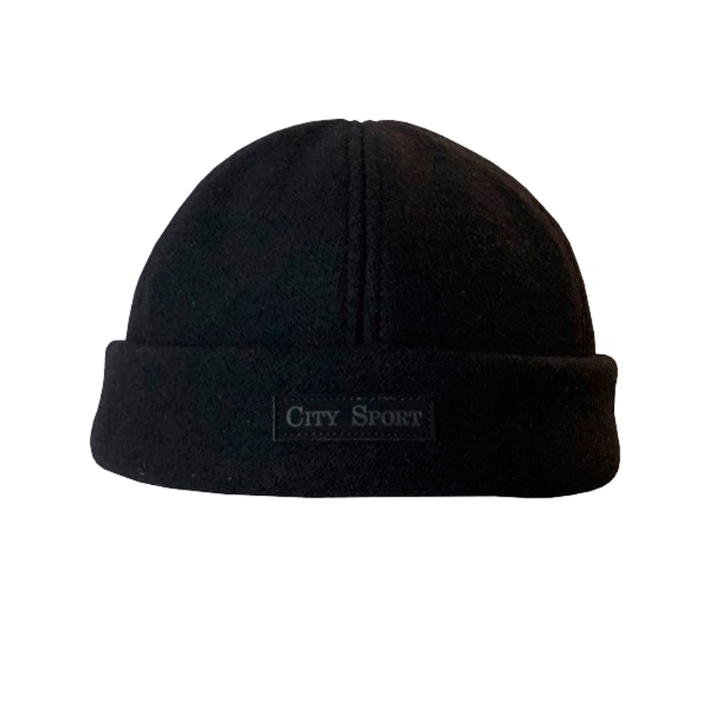 City Sport Round Hat 7045 2422 Black Sort