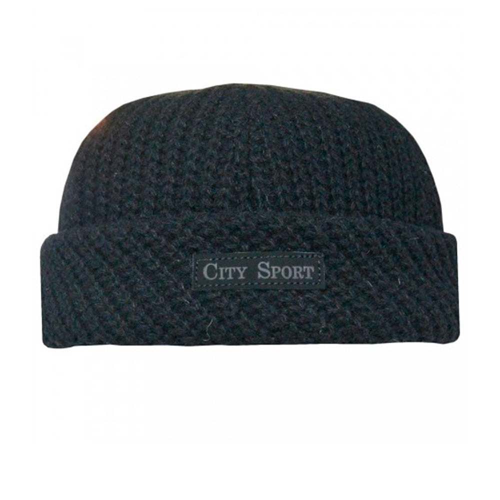 City Sport Round Hat 7045 3166 Black Sort