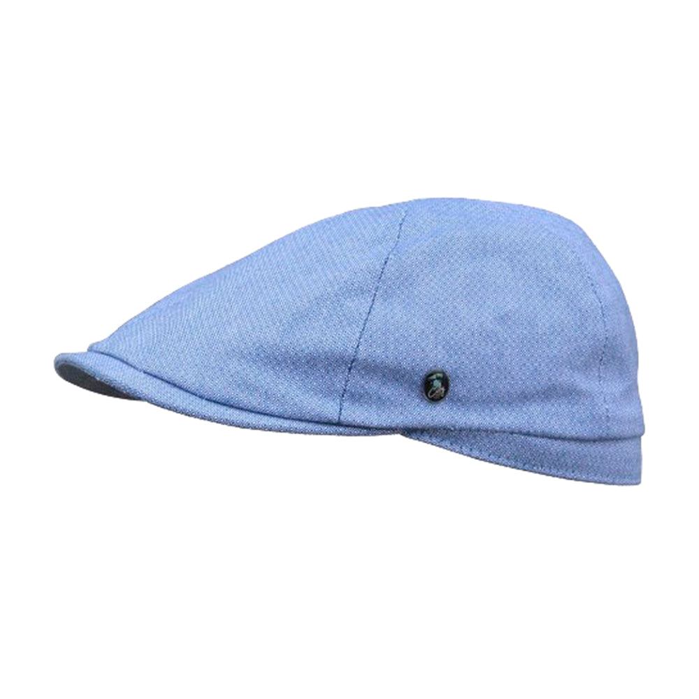 City Sport Sixpence Summer Flat Cap S21 3240 Blue Blå